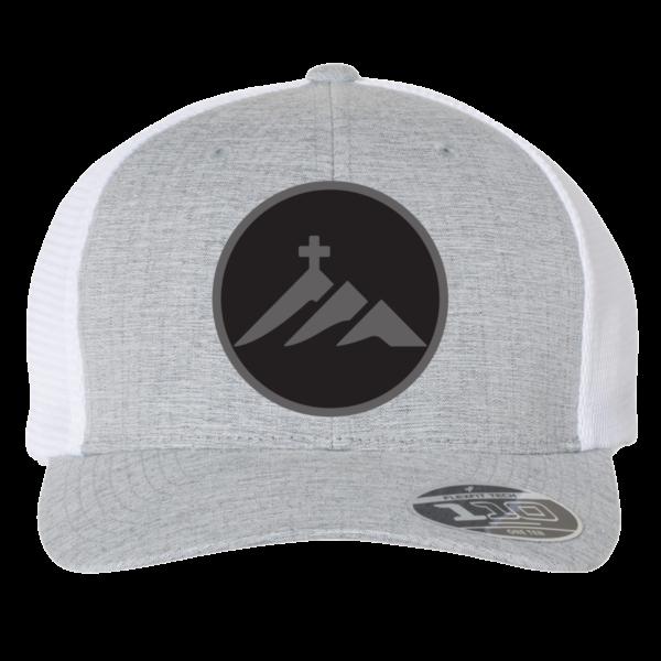 FlexFit 110 Melange Silver White _ Front